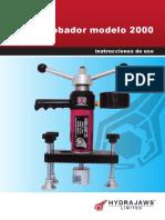 Hydrajaws Model 2000 Manual Espanol