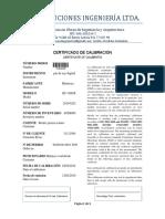 Certificado NÚMERO 5002019