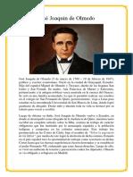 José Joaquín de Olmedo Trabajo 1