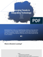 Emerging Trends in Integrating Technology