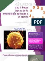 2.1 Contenidos de Las Bases Morfologicas de La Embriologia