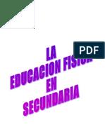 Libro La Educacion Fisica en Secundaria
