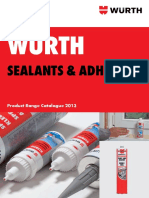 Sealant and Adhesives PDF