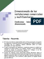 Dimensionado de las instalaciones comerciales y multifamiliares.pdf