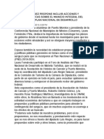 LAURA FERNÁNDEZ PROPONE INCLUIR ACCIONES Y POLÍTICAS PÚBLICAS SOBRE EL MANEJO INTEGRAL DEL SARGAZO EN EL PLAN NACIONAL DE DESARROLLO