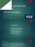 Estado Actual de La IA en Oftalmología