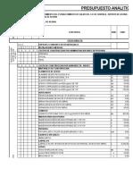 Analitico de Obra Final Xls