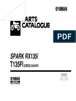 Yamaha RX135i - Parts Catalog