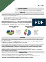 Virginia Parent Teacher Association Fact Sheet