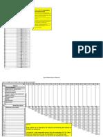 Diagrama de relaciones (37 líneas) con tabla de entrada