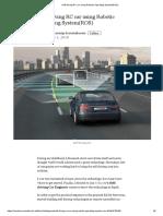 Self-driving RC car using Robotic Operating System(ROS).pdf