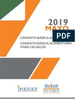 Canasta Básica Alimentaria - Mayo 2019