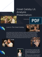 copy of gatsby lit