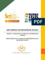 M5 U2 Contexto Demografico de La Seguridad Social