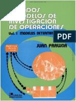 Metodos y Modelos de Investigacion de Operaciones - Vol 1 - Juan Prawda