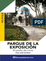 Parque de La Exposicion. El Jardin de Lima
