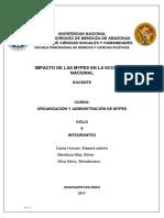 Impacto de Las PYMES - Perú-1