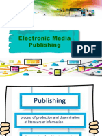 Electronic Media Publishing