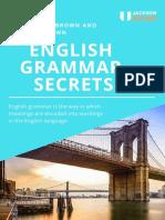 Gramática Avançada Prof Jackson Roger