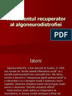 Tratamentul Recuperator Al Algoneurodistrofiei