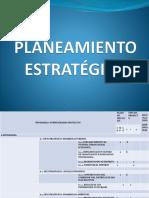 Planeamiento Estratégico Xxx