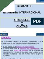 Aranceles - Economía Internacional - Semana 6