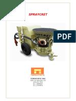Manual Spraycret