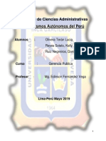 Trabajo de Gerencia Publica- Organismos Constitucionales- Daniela