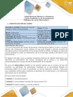 Guía de Actividades y Rúbrica de Evaluación -Unidad 1- Fase 1 - Conceptualizar, Identificar, Reflexionar y Argumentar en Los Foros