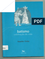 Batismo, Celebracao Da Vida, Anselm Grün