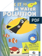 MS4 DOT Stick It to Storm Water Pollution Booklet