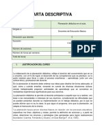 Carta Descriptiva Planeacion Educativa en El Aulaok 5c96eb8be6fb3