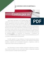 COSTO DEL M2 DE CONSTRUCCIÓN EN REPÚBLICA DOMINICANA 2017.docx