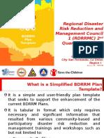 BDRRM Plan Template PPT