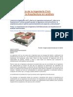 La Importancia de La Ingeniería Civil