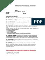 Modelo de Reporte de Investigación Documental o Bibliográfica