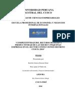 Tesis de Economia y Negocios Internacionales
