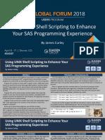 Usando Unix  shell Plsql SQL