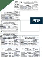 Cronograma Evaluación Exámenes Semanales i Bimestre 2019