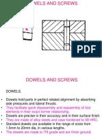 Dowels and Screws
