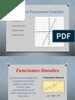 Geogebra Funciones Lineales
