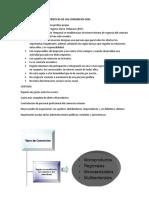 Caracteristicas de Consorcio