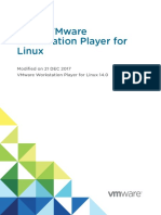 Workstation Player 14 Linux User Guide