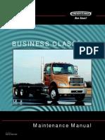 business class m2 maintenance manual