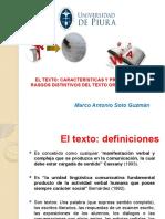 Ppt 2 El Texto Características Propiedades y Diferencias Entre El Texto Oral y Escrito