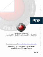Manual Red One (Español)