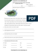 CBSE Class 2 English Practice Worksheet (6)