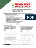 1.Scholorship Test (02-09-18)(Chennai).doc