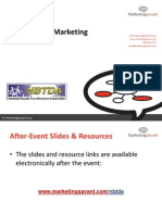Social Media Marketing for the National Bicycle Tour Directors Association (NBTDA)