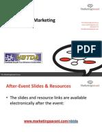 Social Media Marketing for the National Bicycle Tour Directors Association (NBTDA)